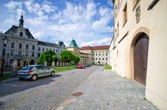 Ärkebiskopslott i Kromeriz, Tjeckien Arkivbild