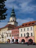 Ärkebiskopslott, Kromeriz, tjeckisk republik Fotografering för Bildbyråer