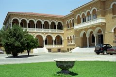 Ärkebiskopslott, Nicosia, Cypern Royaltyfri Foto