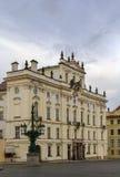 Ärkebiskopslott, Prague Fotografering för Bildbyråer