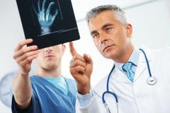 Ärzteteam stockbild