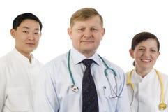 Ärzteteam. Stockfotografie