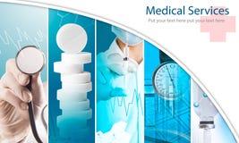 Ärztliche Bemühungen Lizenzfreies Stockbild