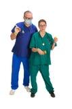 Ärztliche Betreuung Lizenzfreies Stockbild