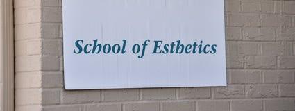 Ästhetik-Schule stockbild