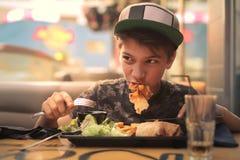 Äta fotografering för bildbyråer