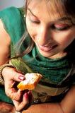 äta att fresta till Royaltyfri Fotografi
