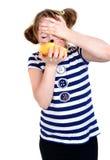Äta den lilla musen Royaltyfri Foto