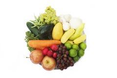 Äta dina Antioxidants Arkivbild
