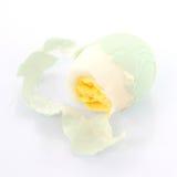 Äta ett ägg royaltyfri bild