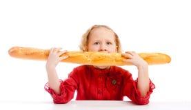 äta för bröd fotografering för bildbyråer