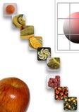 Äta frukt Royaltyfria Foton