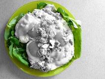 äta green Royaltyfri Fotografi