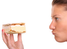 äta inte till Royaltyfri Bild