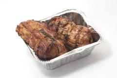 Äta kött Royaltyfria Foton
