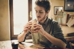 Äta lunch avbrottet Royaltyfri Foto