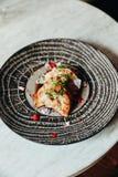 Äta mat i Casco Viejo, Panama royaltyfria foton