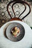 Äta mat i Casco Viejo, Panama del 11 royaltyfri bild