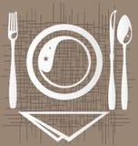 äta middag Royaltyfri Bild