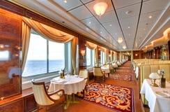äta middag elegant lokal Royaltyfri Fotografi