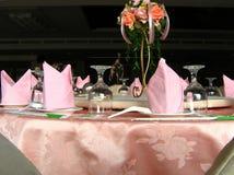 äta middag elegant tabell Royaltyfri Foto