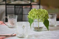 äta middag elegant tabell Arkivbilder
