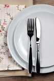Äta middag etikett Royaltyfria Bilder