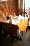 äta middag för område Royaltyfria Bilder