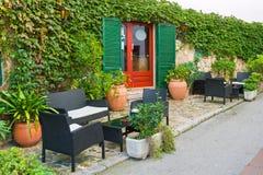 äta middag för område som är utomhus- Royaltyfria Bilder