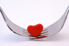 Äta middag för två. Royaltyfria Bilder