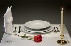 äta middag fine Arkivfoto