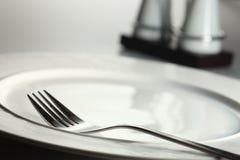 äta middag inställning Royaltyfria Bilder