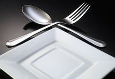 äta middag inställning Fotografering för Bildbyråer