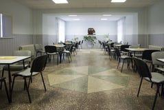 äta middag sjukhuslokal Arkivbilder