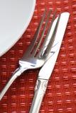 äta middag tabell Arkivfoto