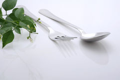 Äta middag tabellen arkivbilder