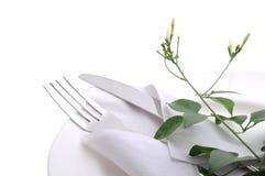 Äta middag tabellen Royaltyfri Fotografi