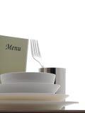 Äta middag tabellen arkivfoton