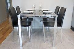 Äta middag tabellen Royaltyfria Foton