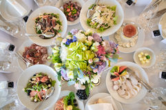 Äta middag tabellset Royaltyfri Fotografi
