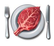 Äta organisk mat vektor illustrationer