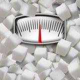 äta socker Royaltyfri Foto