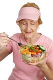 äta som är healthful Arkivfoto