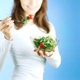 äta som är sunt fotografering för bildbyråer