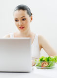 äta sund mat Arkivfoto