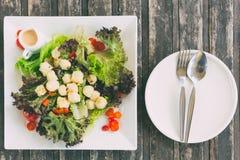 Äta sund mat eller den rena matvegetarian fotografering för bildbyråer