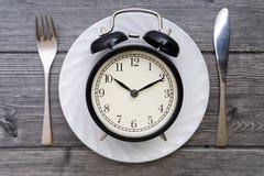 äta tid till Äta lunch Tid, frukosten och matställebegreppet fotografering för bildbyråer