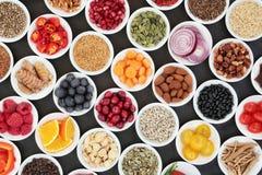 Äta väl för en sund hjärta arkivbild