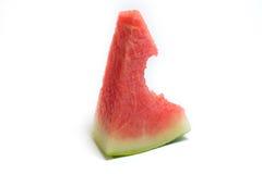 äta vattenmelonen Arkivfoton