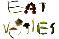 äta veggies Royaltyfri Bild